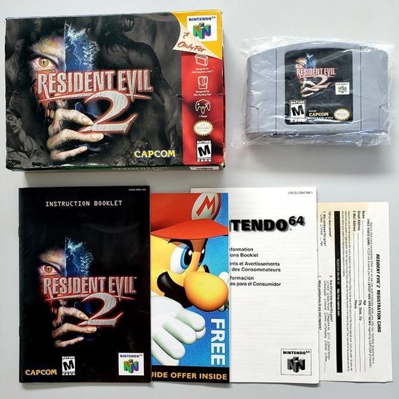 Resident Evil 2 Cib Completa N64 Original Nintendo 64