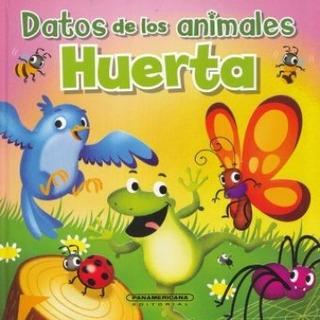 Libro Datos De Los Animales De La Huerta