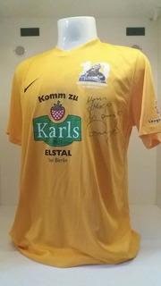 Camisa Futebol Hertha Berlin Nike Despedida Marcelinho