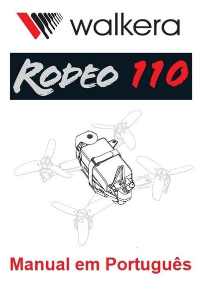 Manual Em Português Do Drone Walkera Rodeo 110