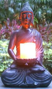 17 Altura Buda Estatua Buda Zen Votiva Portavelas Para...