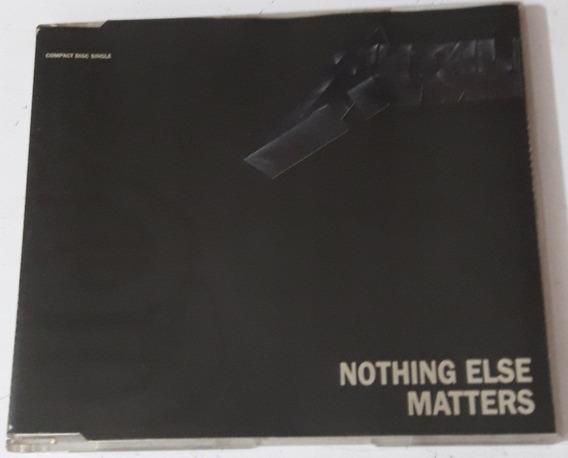 Metallica - Nothing Else Matters ( Cd Single Usa ) Vertigo