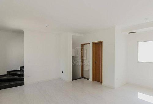 Imagem 1 de 20 de Sobrado, 136 M² - Venda Por R$ 580.000,00 Ou Aluguel Por R$ 2.300,00/mês - Vila Eldízia - Santo André/sp - So4263