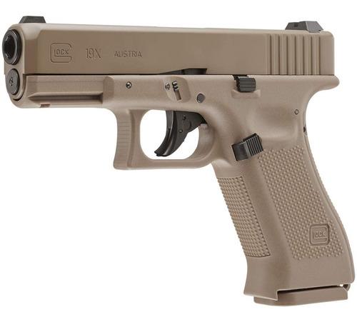 Imagen 1 de 6 de Glock 19x Coyote  Gen5 Co2 Cal .177 Full Blowback / 380 Fps