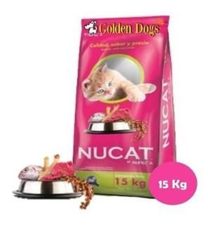 Alimento Para Gato Nucat 15 Kg.