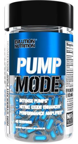 Evlution Nutrition Pumpmode Capsues 40 Cápsulas