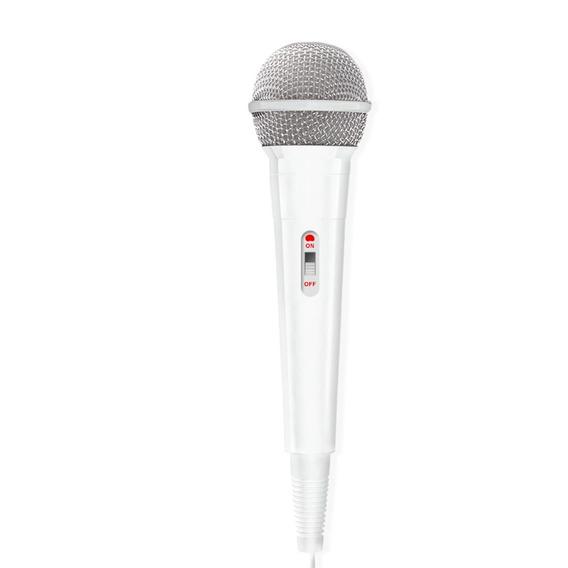 Microfone De Mão Com Fio Waldman,flex Dinâmico De Alta Perfo