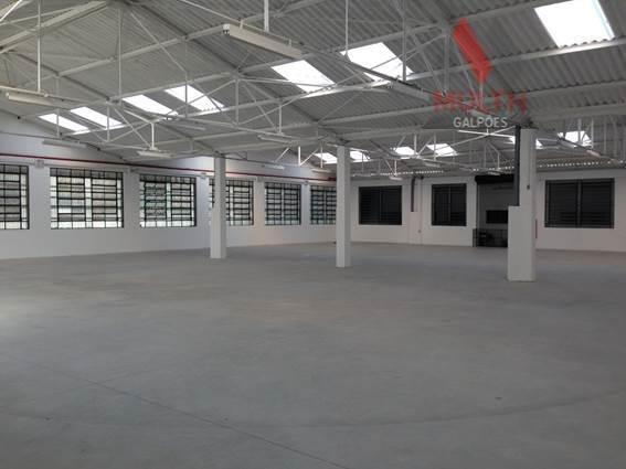 Galpão Industrial Para Locação, Vila Socorro, São Paulo. - Ga0016