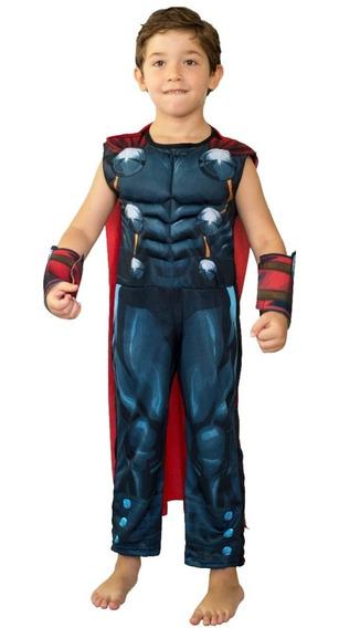 Disfraz Con Musculos Thor Newtoys Mundo Manias