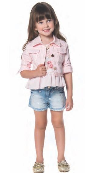 Jaqueta Jeans Infantil Petit Cherie 11.11.41000