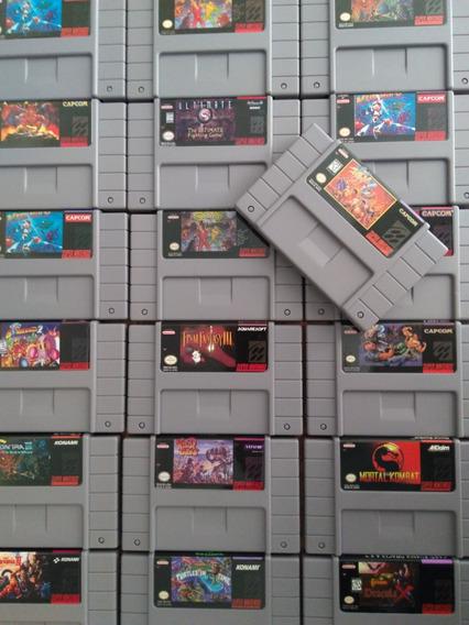 Cartuchos Snes Fitas Super Nintendo! Valor De Duas Unidades