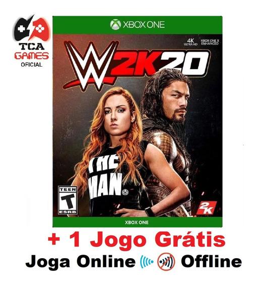 Wwe 2k20 - Xbox One Mídia Digital