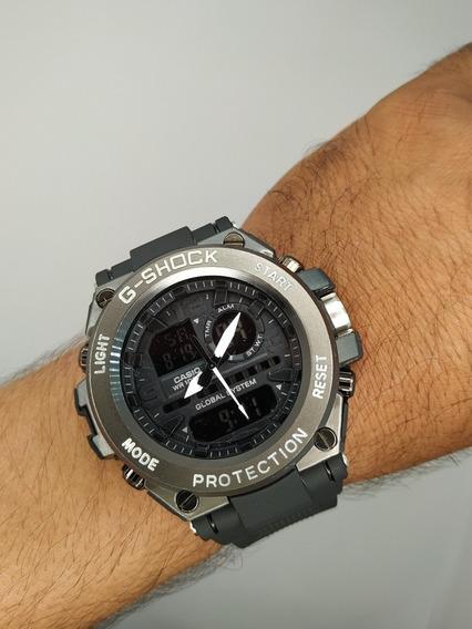Relógio Caixa De Aço G-shock Masculino