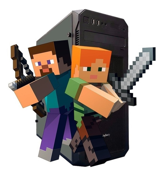Pc Gamer Low P/ Minecraft, Crossfire, Gta/ Wi-fi