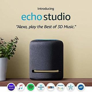 Presentamos Echo Studio - Altavoz Inteligente De Alta Fideli