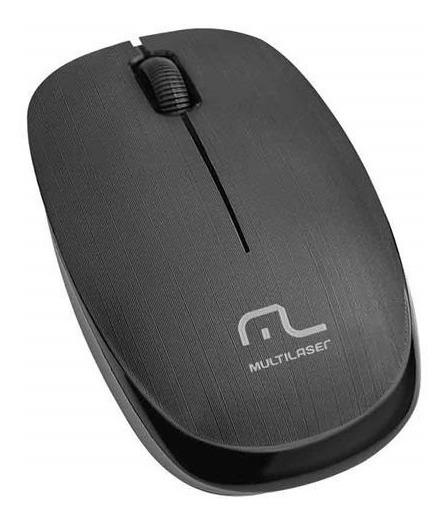 Mouse Sem Fio 2.4 Ghz 1200 Dpi Preto Usb Mo251