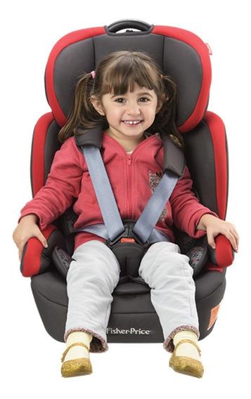 Cadeira Cadeirinha Carro Fisher-price Safemax Isofix Red