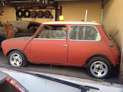 Morris Mini Cooper Antigo 1972 Mini Morris