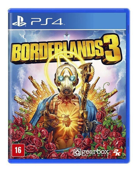 Borderlands 3 Ps4 Mídia Física Novo Lacrado