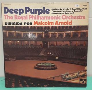 Deep Purple Concierto En Vivo Albert Hall The Royal Lp