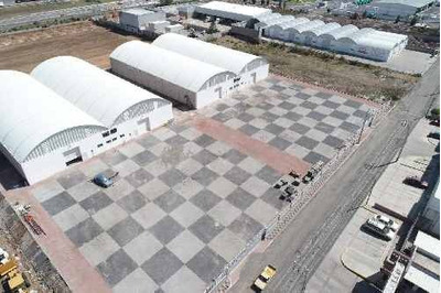 Bodegas En Renta, La Noria, Zona San Isidro Miranda, Querétaro. 1000m2 Bodega Y 1500 M2 Patio Frente