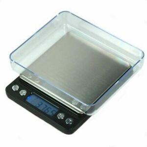 2000g X 0,1 G Balanza Digital 0,1 Gramo Precision Escala Par