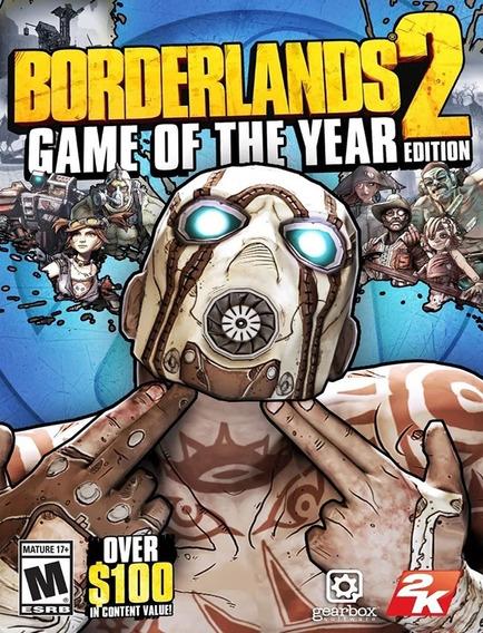 Borderlands 2 Goty Pc - Steam Key (envio Flash)