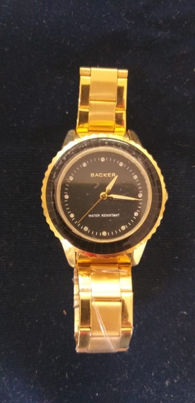 Relógio Backer Feminino 1652145m Original Barato