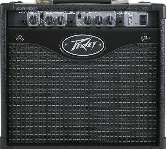 Amplificador Para Guitarra 15 W Peavey 158 Rage