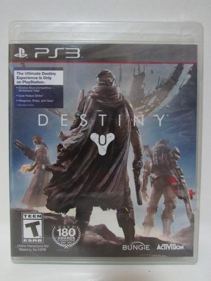 Destiny - Lacrado Game Playstation 3 Original Mídia Física