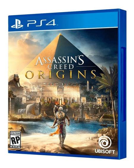 Assassins Creed Origins Ps4 Psn Primária Pt-br Envio Hoje