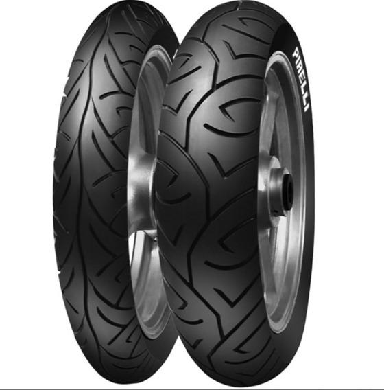 Par Fazer 250 Pneu Pirelli Sport Demon 110/70-17 + 140/70-17