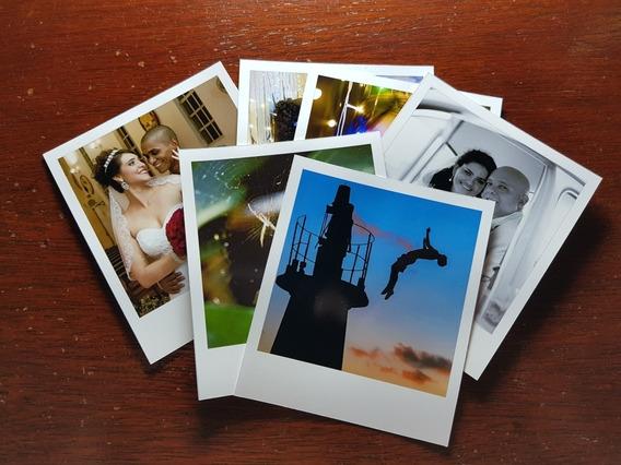 Revelação De 12 Fotos 9x10 Formato Polaroid Frete Grátis