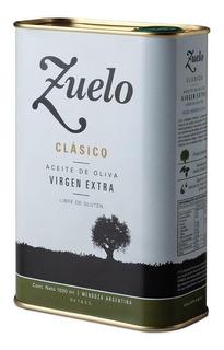 Aceite De Oliva Extra Virgen - Aceite Zuelo Clasico 1 Lts