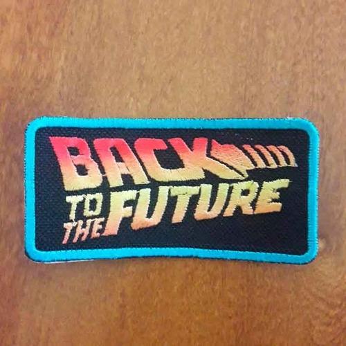 Imagen 1 de 2 de Parche, Volver Al Futuro Logo Accoriginals