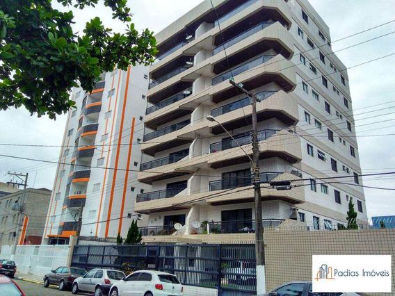 Apartamento Com 3 Dorms, Centro, Mongaguá - R$ 470 Mil, Cod: 857455 - A857455