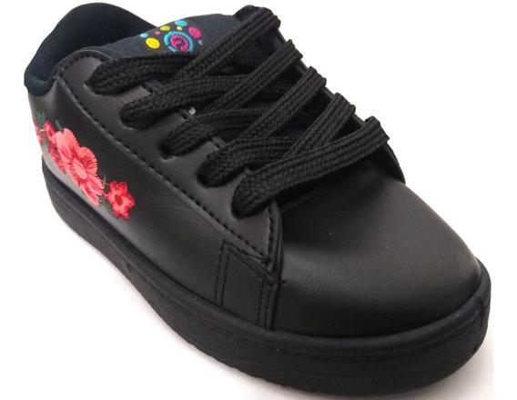 Zapatillas De Nena Proforce Flores Art 327
