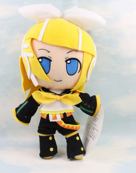 Vocaloid Hatsune Miku - Pelúcia Kagamine Rin (30cm)