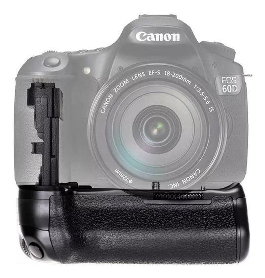 Battery Grip Bg-e9 Para Câmera Canon 60d 60da Bateria Bg-1g