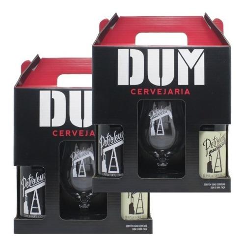 2 Kit Dum Petroleum + Petroleum Baunilha + Taça Petroleum