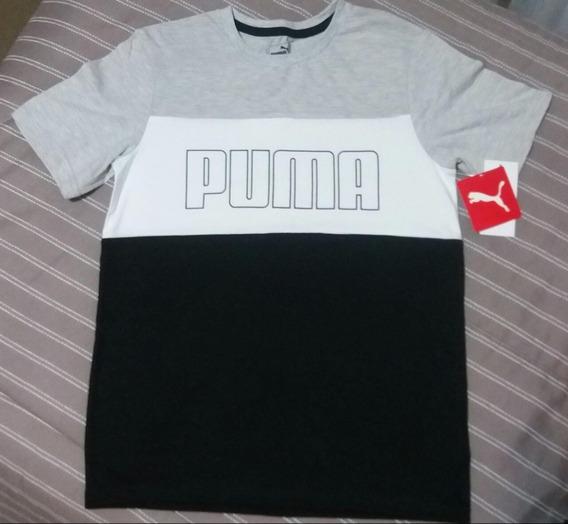 Camiseta Puma Menino Importada Eua Pronta Entrega
