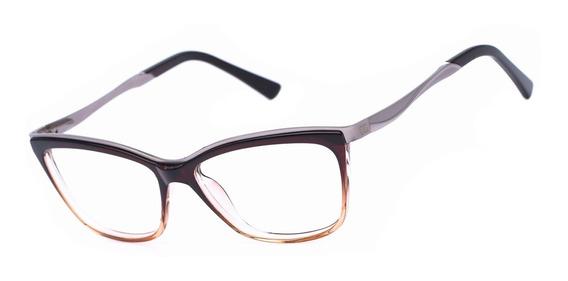 Armação Oculos Ogrife Og 1831-c Feminino Com Lente Sem Grau