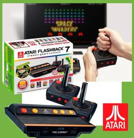 Console Game Retrô Atari Flashaback 7 Classic+101jogos Fg