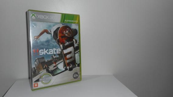 Skate 3 Xbox 360 Mídia Física Novo Lacrado