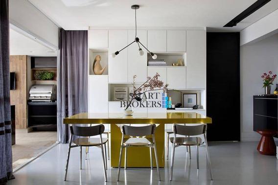 Apartamento Com 2 Suítes À Venda, 140 M² - 2 Vagas - Bosque Da Saúde - São Paulo/sp - Ap1143