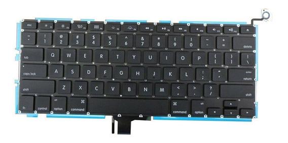 Teclado A1278 Com Luz De Fundo Para Macbook Pro 13 Novo Usa
