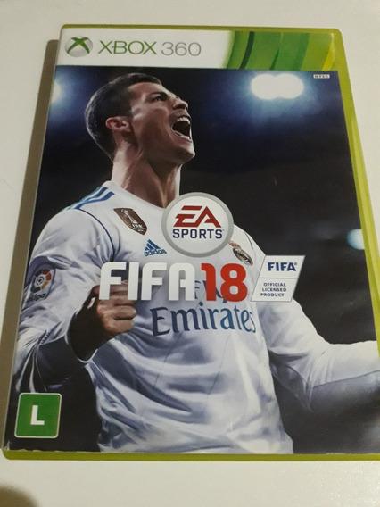 Fifa 18 Xbox 360 Mídia Física