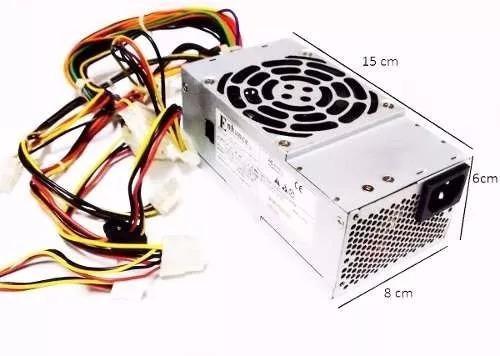 Fonte Atx Slim Enhance 250w Hp, Dell, Ibm Sata E Ide Usada