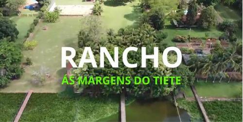 Imagem 1 de 10 de Rancho Às Margens Do Rio Tietê Bauru Pederneiras