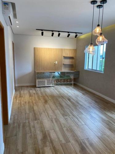 Imagem 1 de 30 de Belíssimo Apartamento Com 3 Quartos À Venda, 87,1 M² Por R$ 498.000 - Parque 10 De Novembro - Manaus/am - Ap3250